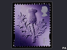 Scottish definitive stamp