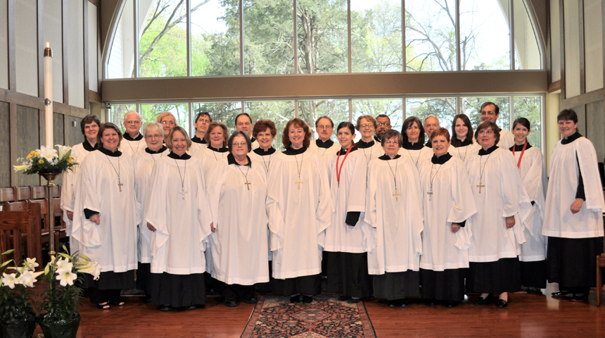 The Choir of St George's Episcopal Church, Germantown, Tennessee, USA