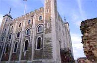 Photograph showing The Tower of London, in London