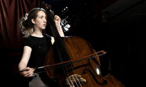 Classical Star: Catherine plays the Double Bass