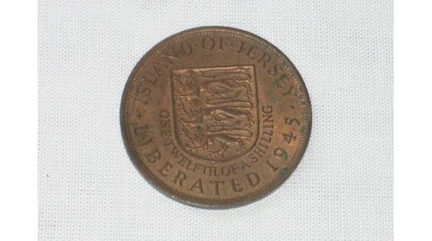 Commerative coin from Jersey