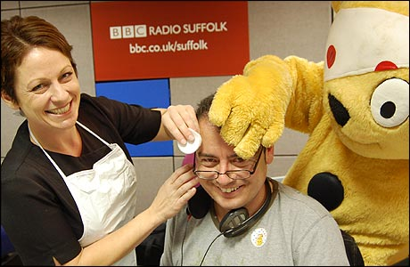Julie, Stephen Foster and Pudsey