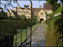 Lytes Cary Manor from Apostle Garden