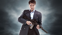 Captain Jack (John Barrowman) is in a race against time