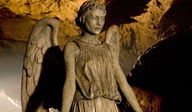 A weeping angel
