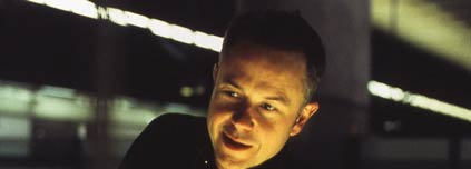 Michael Winterbottom, pictured on the set of Code 46