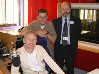 John with Brian Hall and Roger Wakerley
