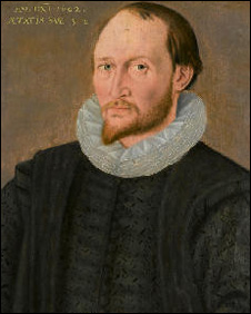 Picture (Trinity College, Oxford) often said to be of Thomas Harriot