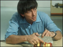 John Noakes of Blue Peter makes cards