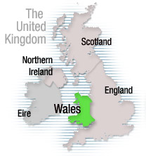 BBC Wales The geography of Wales