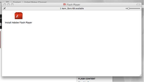 Flash download step 4 – Install Flash Player