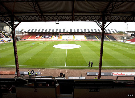 Love Street, home of St Mirren...but not for long