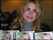 Billie at ASDA Wal-Mart 24/10/06