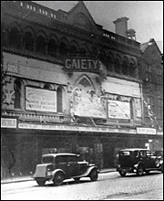 Gaiety Theatre, 1934 (c) Manchester Libraries