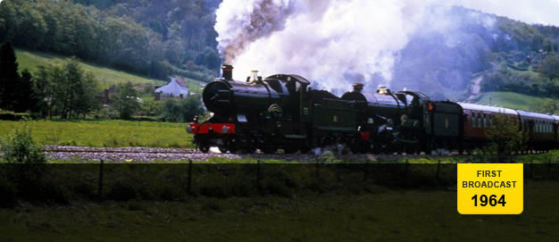 Steam train, Great Western Railway.