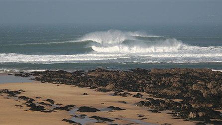 Surf at Freshwater West