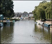The riverside at Ely