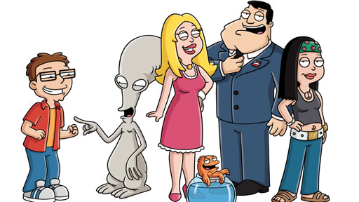 Watch American Dad on BBC Three starting Sunday, November 6 at 10pm