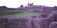 Photograph showing where the great convocation took place at Old Sarum