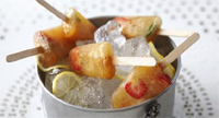 Pimms lollies