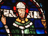 Thomas Becket in stained glass