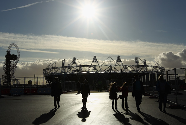 Olympic Stadium. Getty Images