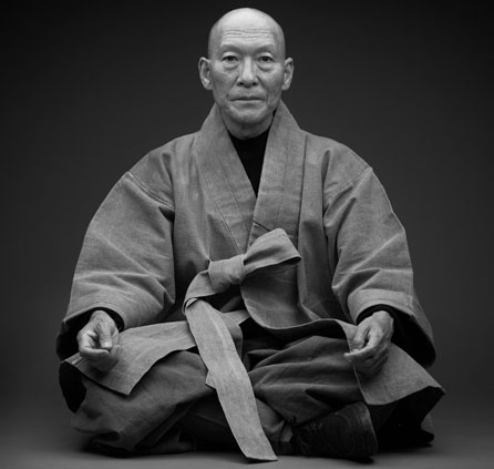 Duck Hyun Cho & Seihon Cho, Portrait of a Great Monk, 2001 © the artists