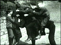 Playground games, c. 1930 (Yorkshire Film Archive)