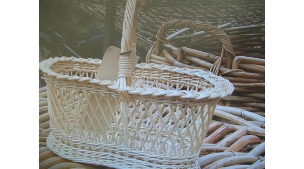 Oriental Willow Basket