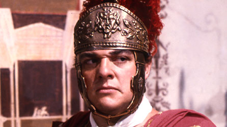 John Rhys-Davies pictured as Macro in the BBC drama I, Claudius