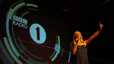 Jo Whiley at the 2008 Radio 1 Big Weekend
