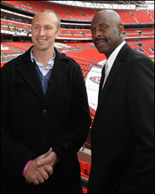 Neil with NFL legend Jerry Rice
