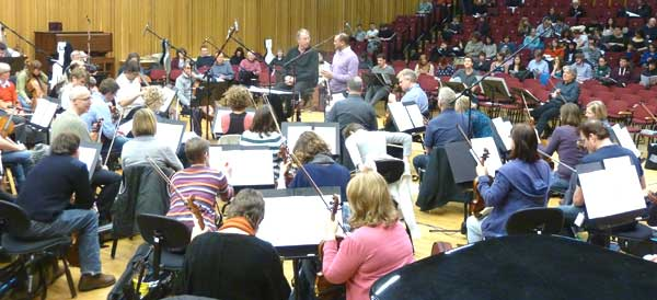 Photo of the BBC National Orchestra of Wales's Composer Workshops