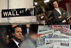 Financial Crisis, Cameron, Newspapers