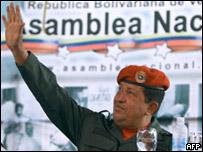 Venezuela Cumhurbaşkanı Hugo Chavez
