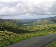 View from Hardknott Pass