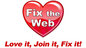 The Fix The Web logo