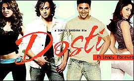 BBC - Shropshire - Bollywood - Dosti - Friends forever