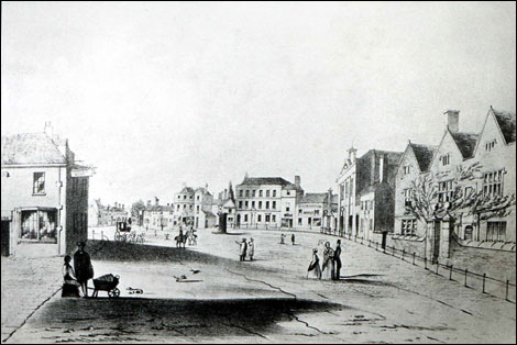 A print of the Market Place