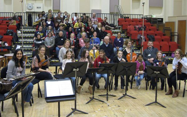 Picture of the Salford Family Orchestra