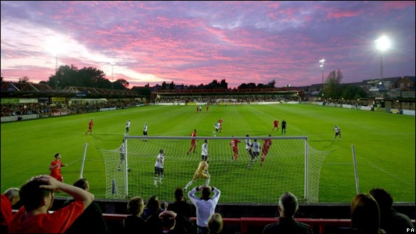 Accrington hope the Crown Ground is hosts League football for years to come