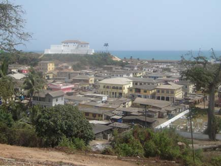 Elmina town and castle