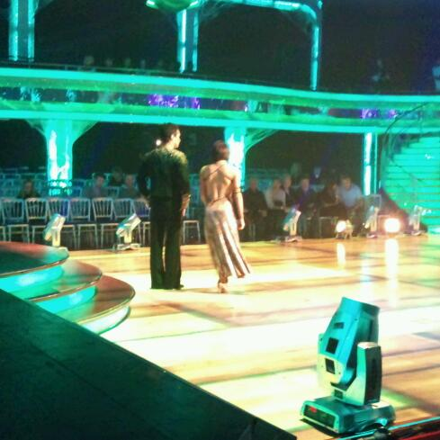 Jimi Mistry and Flavia Cacace in dress rehearsal for the Strictly Halloween special
