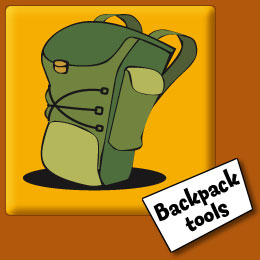 Image, link to backpack tools