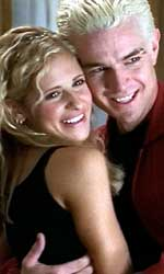 Buffy and Spike get close