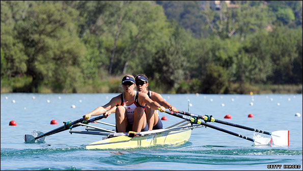 Anna Bebington and Annabel Vernon are back together in the double scull