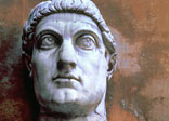 Colossal head of Constantine I 'the Great'