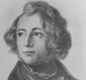 Charles Dickens aged 27. His grim tale Oliver Twist was published over a year earlier.