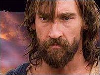 Joseph Mawle as Jesus in BBC Drama The Passion
