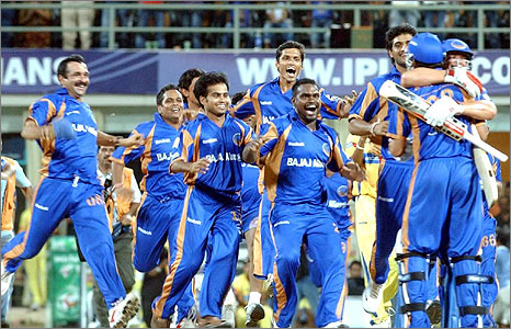 The unfancied Rajasthan team won the competition on Sunday night.<br /> Photo: Indian Express